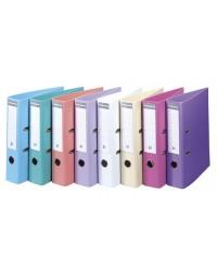 Exacompta Classeur à levier, Dos 70mm, PVC Premium, Couleurs pastels, 53084E