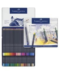 Faber Castell, Crayons de couleur, Goldfaber, étui de 48, 114748
