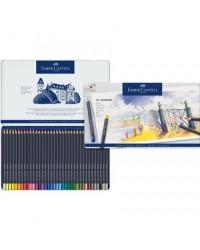 Faber castell étui métal 36 crayons de couleur GOLDFABER 114736