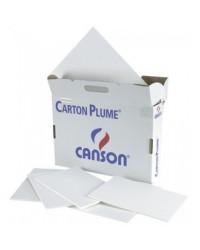Canson carton plume blanc 50X65 3MM 205154201