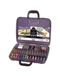 POSCA Marqueur à pigment, mallette de 20 pièces, POSCA/20 007