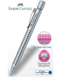 Faber castell stylo bille 2011 argent 144111
