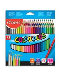 Maped étui 48 crayons de couleur color peps 832048