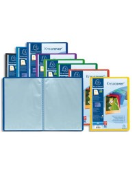 Exacompta Protège documents personnalisable, 60 vues, Kreacover, 5730E