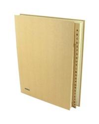 Extendos trieur alphabétique écologique 24 compartiments 74ECO24