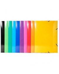 Exacompta chemise carte 3 rabats élastiques IDERAMA A3 couleurs assorties 59829E