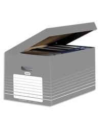 Elba conteneur carton ouverture dessus long terme GRIS 400061159
