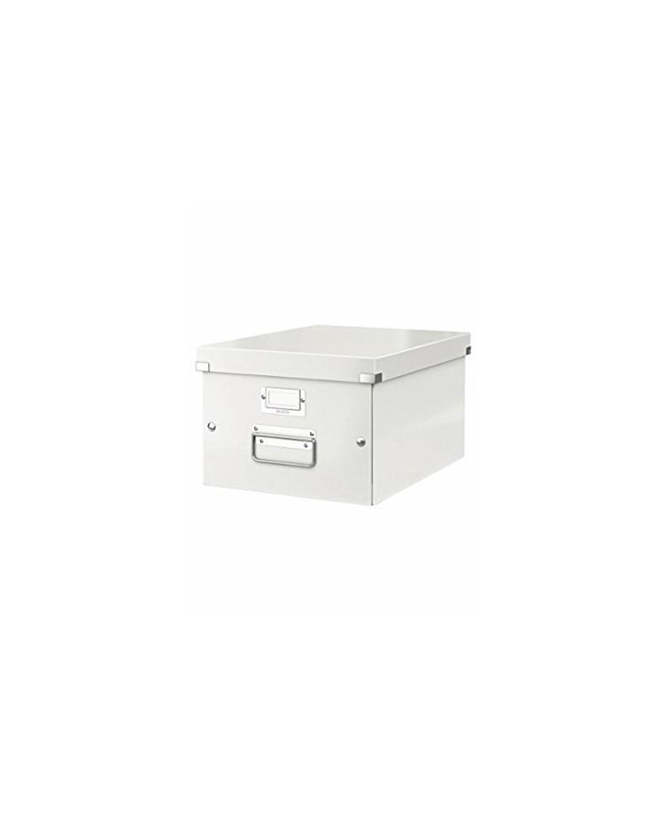 LEITZ Boîte de rangement Click & Store WOW, A4, blanc, 60440001