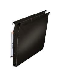 Elba Dossiers suspendus, Armoire, Fond 30mm, Plastique polypro, Ultimate renforcé, Noir, 100330612