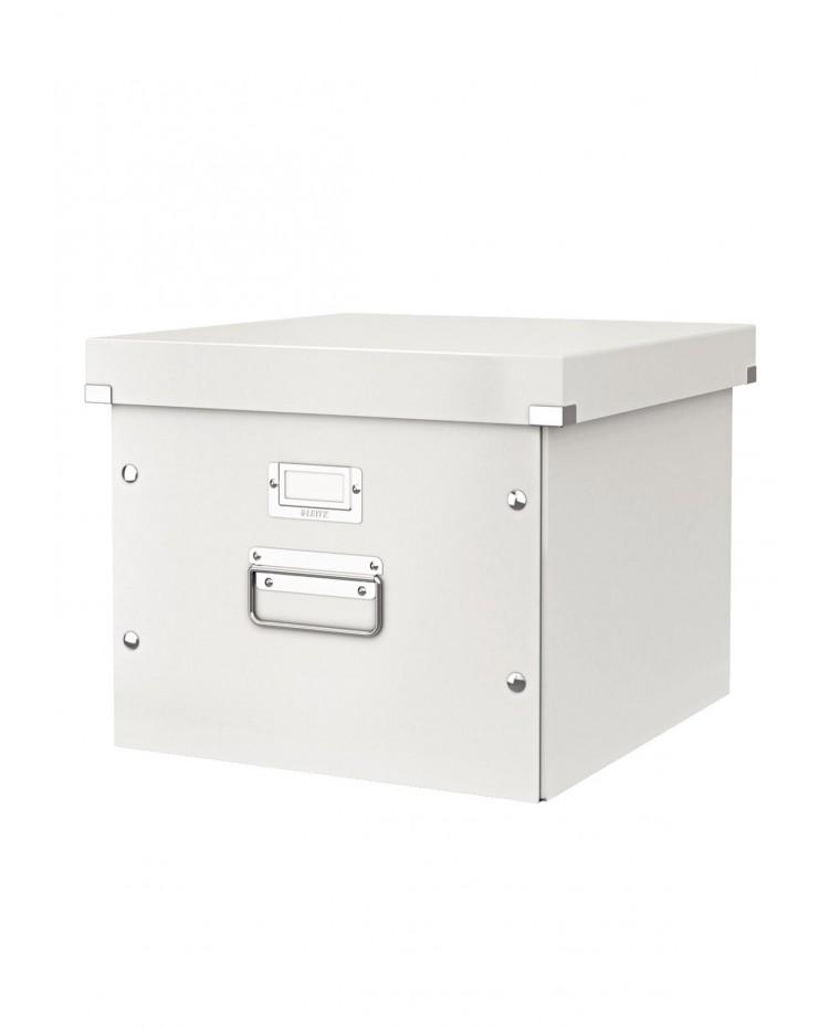 LEITZ Coffret pour dossiers suspendus Click & Store, blanc, 60460001