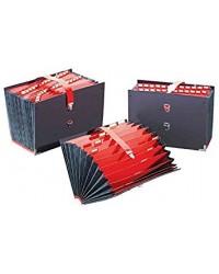 Extendos trieur accordéon 25 compartiment série 55 NOIR 5525
