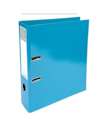 Exacompta Classeur à levier, Iderama, Dos 70mm, Bleu turquoise, 53627E