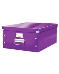 LEITZ Boîte de rangement Click & Store WOW, A3, violet, 60450062