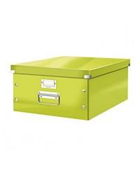 LEITZ Boîte de rangement Click & Store WOW, A3, vert, 6045-00-54