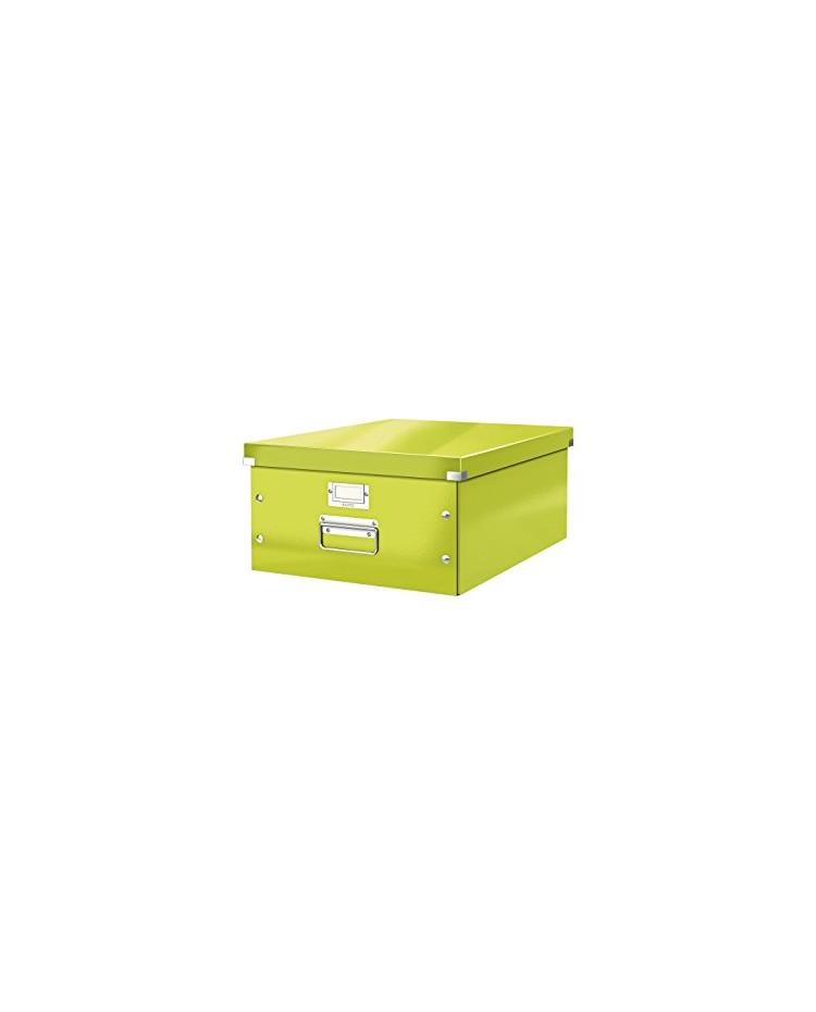 LEITZ Boîte de rangement Click & Store WOW, A3, vert, 60450064