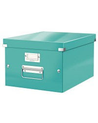 LEITZ Boîte de rangement Click & Store WOW, A4, menthe, 60440051