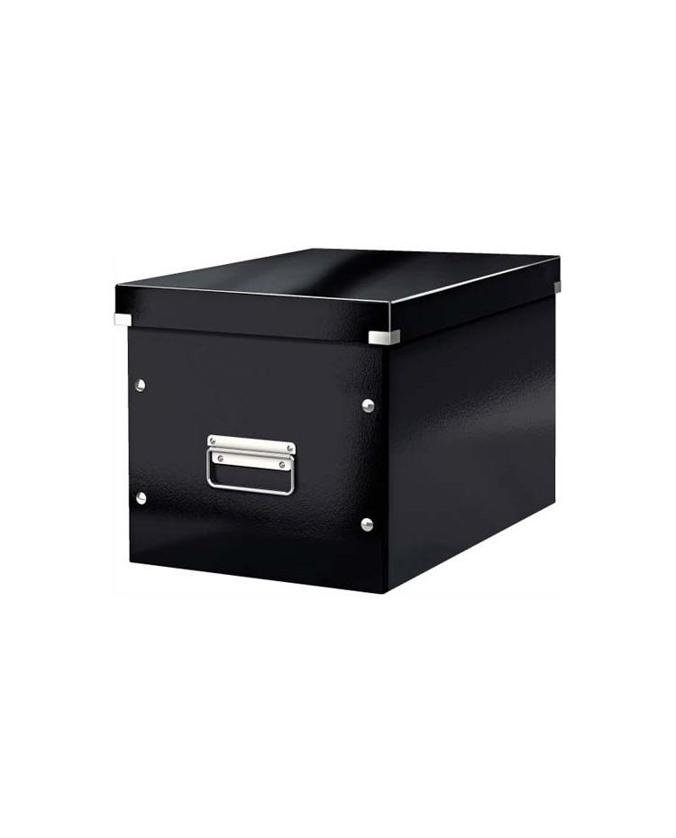 Leitz boite de rangement CLICK&STORE CUBE M NOIR 6108009