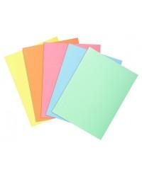 Exacompta paquet 30 sous chemises SUPER 60G couleurs assorties 850300E