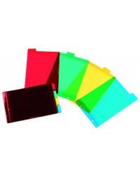 Elba 4 intercalaires plastiques A5 15X21 100210616