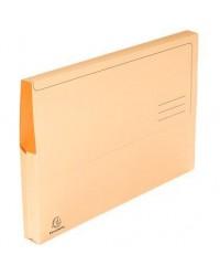Exacompta paquet 50 chemises poche SUPER 210G BULLE 46774E