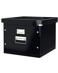 LEITZ Coffret pour dossiers suspendus, Click & Store, Noir, 6046-00-95
