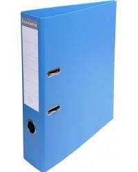 Exacompta Classeur à levier, PVC Premium, Dos 70mm, Bleu, 53742E
