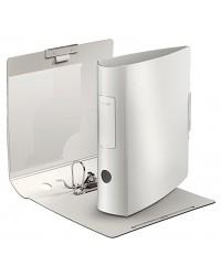 Leitz Classeur à levier, Active style, Dos 80mm, 180°, Plastique polypro, Blanc arctic, 11080004