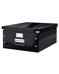LEITZ Boîte de rangement Click & Store WOW, A3, noir, 60450095