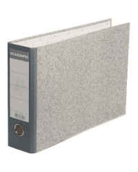 Exacompta Classeur à levier, A4 à l'italienne, Dos 70mm, Papier marbré gris, 53310E