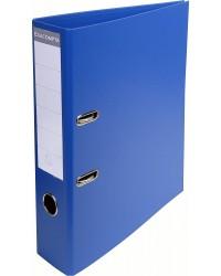 Exacompta Classeur à levier, dos 70mm, PVC Premium, Bleu foncé, 53752E