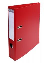 Exacompta Classeur à levier, Dos 70mm, PVC Premium, Rouge, 53745E