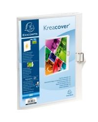 Exacompta Chemise extensible personnalisable, KREACOVER, Blanc, 37802H