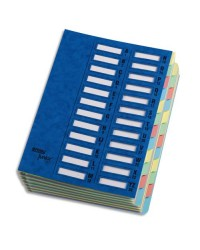 Emey Trieur junior, 24 compartiments, Extensible, Carte bleu, 37.24