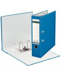Leitz Classeur à levier, Dos 80mm, 180°, Plastique polypro, Bleu clair, 10105130