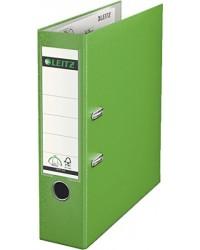 Leitz Classeur à levier, Dos 80mm, 180°, Plastique polypro, Vert clair, 1010-50-50