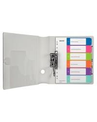 LEITZ Intercalaires en plastique WOW, numéroté, A4, 1-6, 12420000