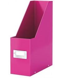LEITZ Porte-revues Click & Store WOW, A4, carton, rose, 60470023