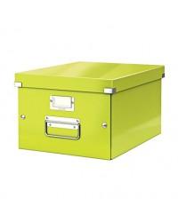 LEITZ Boîte de rangement Click & Store WOW, A4, vert, 6044-00-54