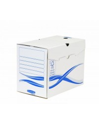 Bankers Box Boites a archives, 200 mm, Basic, Fellowes, Carton recyclé, 4460401