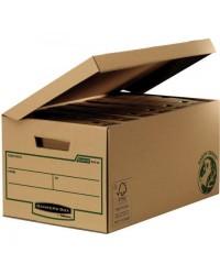 Bankers Box conteneur archives EARTH SERIES ouverture sur le dessus 4472205