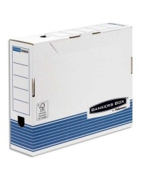 Bankers Box Boites a archives, 80mm, SYSTEM, Montage automatique, Fellowes, 1130802