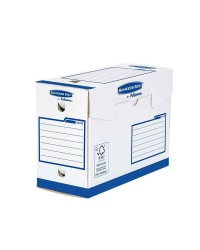 Bankers Box Boites a archives, 200mm, HEAVY DUTY, Fellowes Basic, 4472902