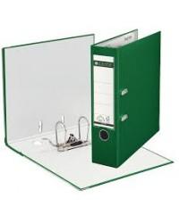 Leitz Classeur à levier, Dos 80mm, 180°, Plastique polypro, Vert foncé, 10105055