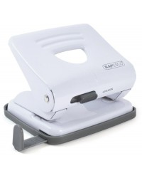 Rapesco perforateur 825 métallisé blanc 1399