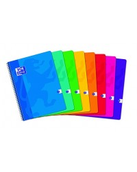 Oxford cahier spirale 24X32 100 pages petits carreaux 5X5 100104405