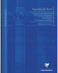 Clairefontaine Agenda de bord, A4 210 x 297mm, 144 pages, 9059C