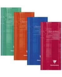 Clairefontaine carnet de bord 8.5X20 32 pages 3529C