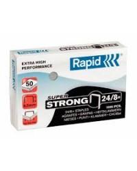 Rapid Agrafes Super Strong 24/8, galvanisé, Boite de 1000, 24858500