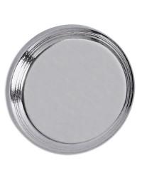 MAUL Aimant puissant néodyme, 16mm, Nickelé, 617 01-96