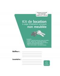 Exacompta Kit de location, Vide, Non meublé, Avec notice d'information, 41E